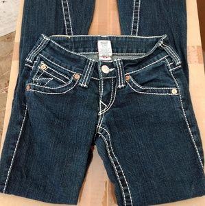 True religion joey big t jeans sz 24